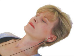 CES treatment with earclips